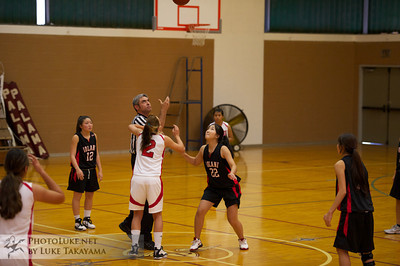 Iolani Basketball 12/7/2011