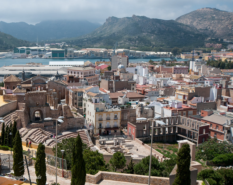 Cartagena, Spain - Views from Castillo de la Concepcion