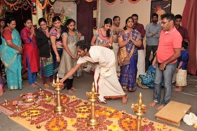 Ayyappa Pooja- Jan 14th 2017 - Satyanarayana Temple