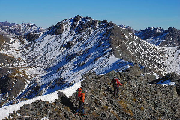 Clare Peak - Gladstone Peak, 5 - 6 May 2012
