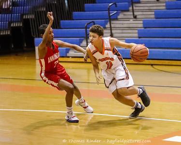 Boys Frosh Basketball v Annandale 1/25/18