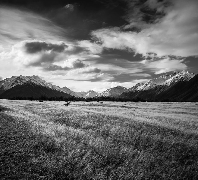 Moody at the Alps