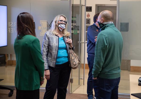 10.15.20 Carol Miller visits Business Incubator