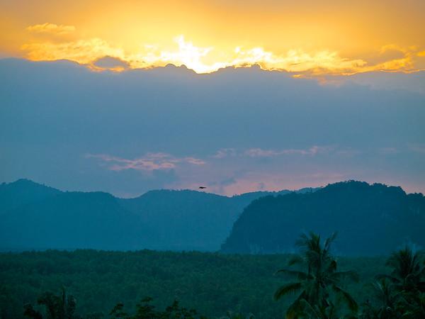 New Years Day Sunset, Krabi