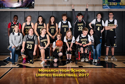 Monarch Unified Basketball 2017
