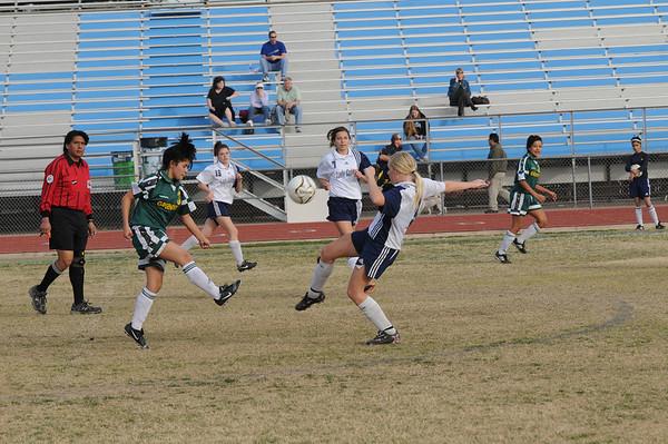 Cactus JV Girls Soccer v Greenway - 01/25/11