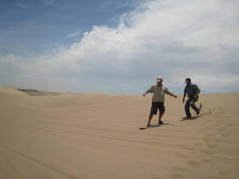 Dune buggy adventure, Pisco, Peru - Sand surfing!
