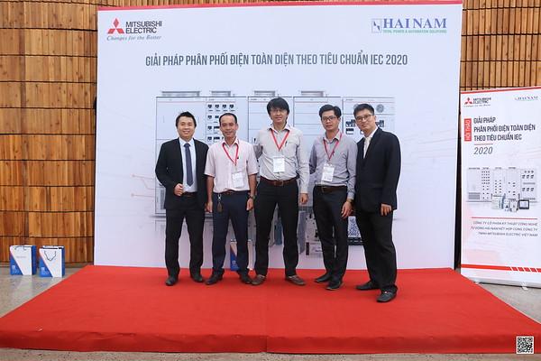 Mitsubishi Electric Vietnam | HỘI THẢO GIẢI PH�P PHÂN PH�I �IỆN TOÀN DIỆN THEO TIÊU CHUẨN IEC | QR Code Photoobooth | Chụp hình nhận ảnh bằng QR Code | Saigon Photobooth