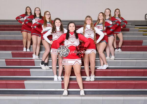 SN HS Cheerleading Team 20-21