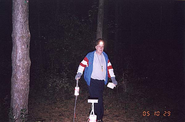 Vampire Orienteering, Oct 29, 2005 at Governor Bebb