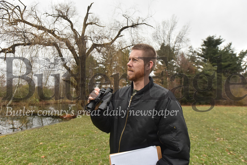 90627 Chris Kubiak with Succop nature park talks about the South Butler Christmas bird count December 16