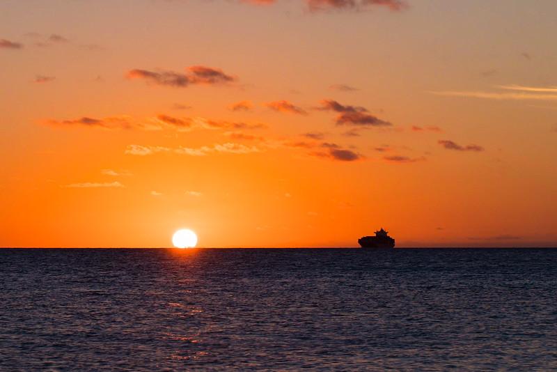 Ship and Sun