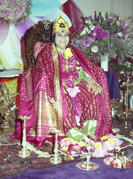 Birthday Puja, 21 March 1990, Sydney (Matthew Fogarty photo)