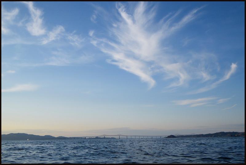 Fabulous skies.