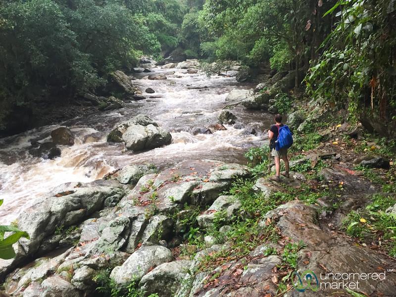 Lost City trail along Rio Buritaca, Colombia
