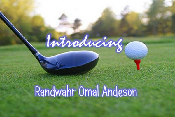 Randwahr Omal Anderson Golf Clip NEW