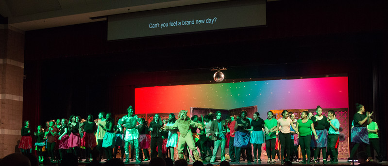 """Everybody Rejoice/ Brand New Day"" -- ""The Wiz"", Montgomery Blair High School spring musical, March 26, 2017"