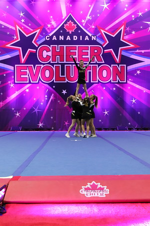 Cheer On! Bears  Kodiak Stunt - Junior Stunt Group 1