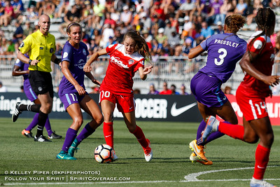 Washington Spirit v Orlando Pride (8 July 2017)
