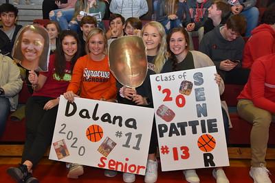 GV Basketball Senior Night
