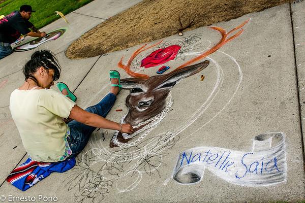 San Jose Chalk Art Festival 2013