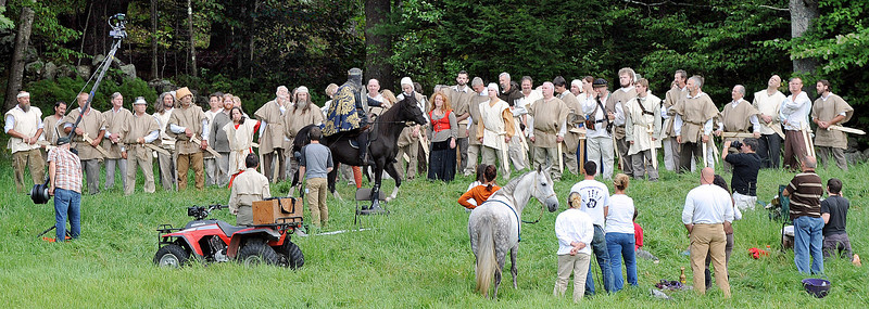 Filming of Richard3