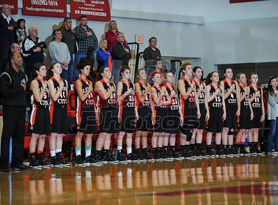 LC Girls vs William Blount - District Tournament - Feb. 13, 2013