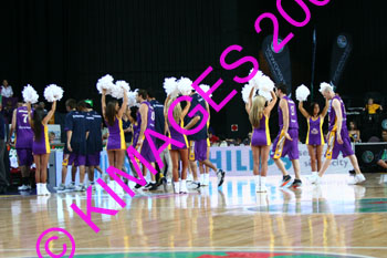 Kings Vs Adelaide Cheerleaders & Half Time Entertainment 8-12-06