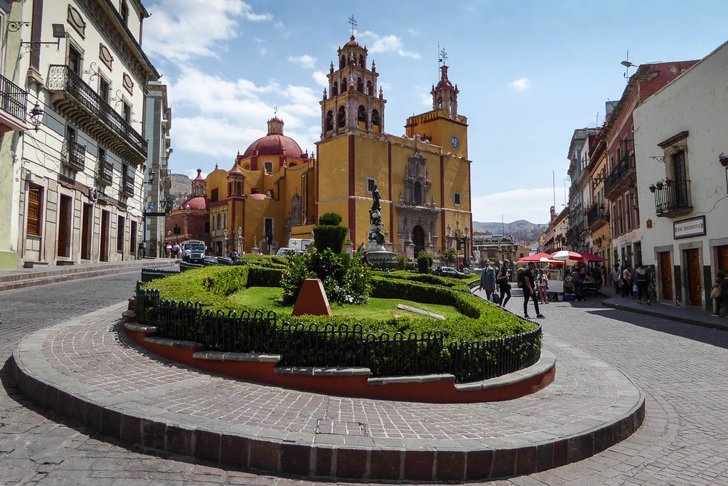 Basilica of Our Lady of Guanajuato Mexico