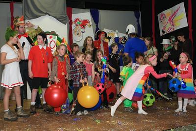 Kindercarnaval 2010 - Mega en uitslag