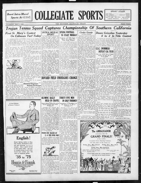 The Southern California Trojan, Vol. 15, No. 79, May 01, 1924