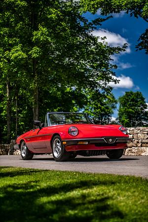 Alfa Romeo Spider Graduate