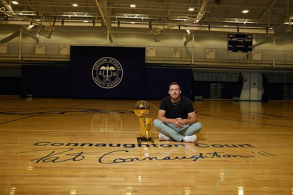 Pat Connaughton NBA Trophy Candids