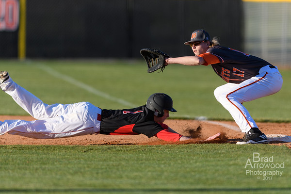 NDHS Baseball vs Wesleyan 2017
