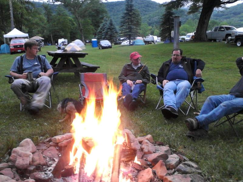 Thursday night campfire.
