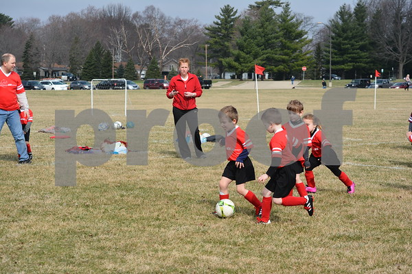 Princton Youth Soccer League games of April 6, 2019