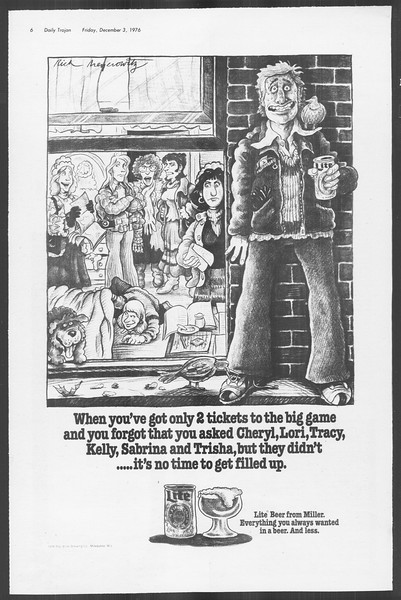 Daily Trojan, Vol. 70, No. 47, December 03, 1976