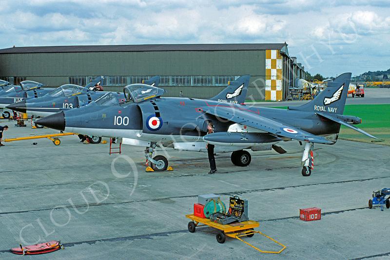 BAE Harrier 00009 BAE Harrier British Royal Navy August 1980 via African Aviation Slide Service.JPG