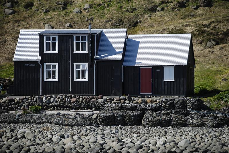 Aðalvík - Látrar. Sjávarhús 2014.