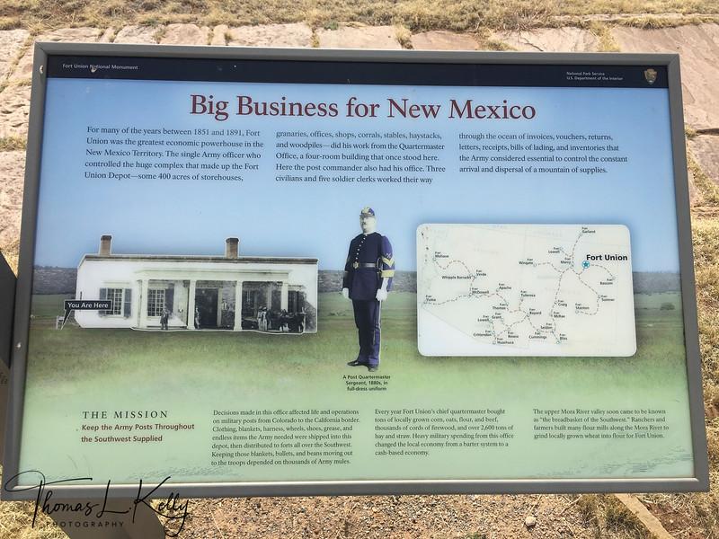Fort Union, NM.