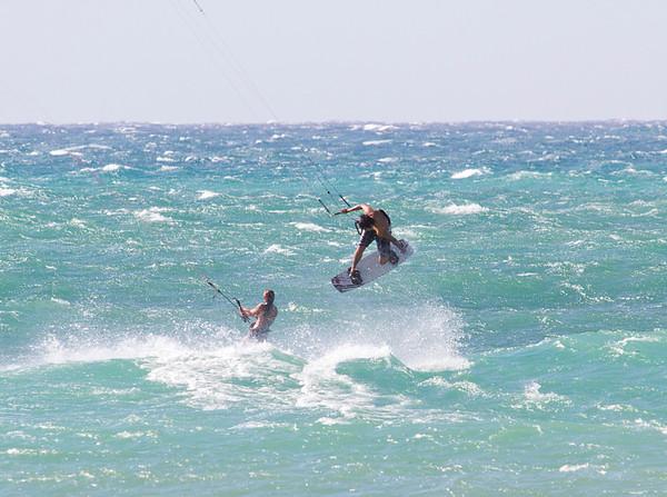 Kitesurfing - Kanaha, Maui - May 2011