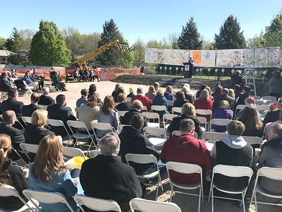 Zoo School Groundbreaking April 2017