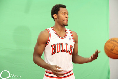 Behind The Scenes of Chicago Bulls Media Day 2012