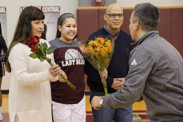 Lady Bears BB - Senior Night 2017