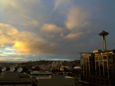 Seattle Webcam November 2012