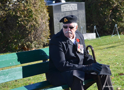 Remembrance Day 2015 - Ayer's Cliff