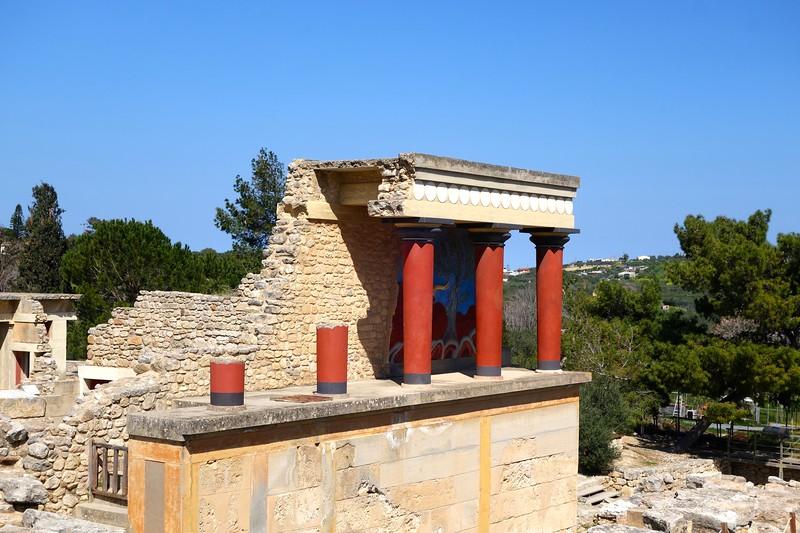 at Knossos
