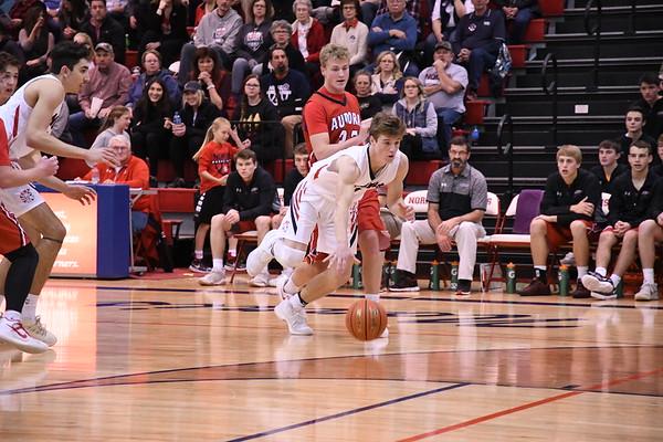 Varsity Boys Basketball vs Aurora