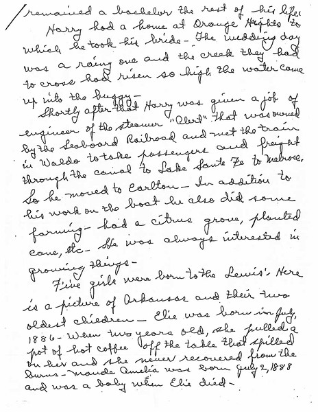 Letter from Pearl Lewis Davis re Henry Dutton Lewis life_Page_3.jpg