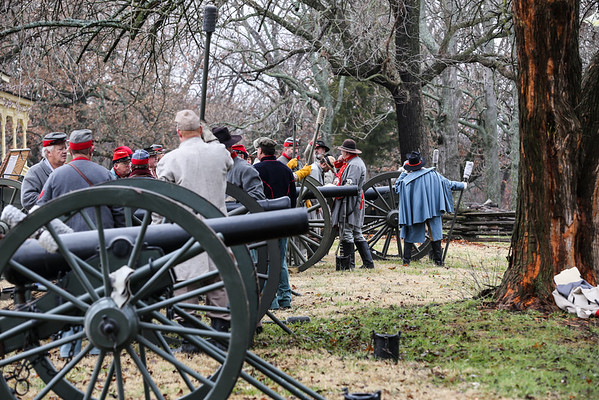 Civil War Prairie Grove Reenactment 2014